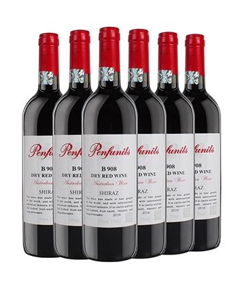 奔富尼澳908红酒
